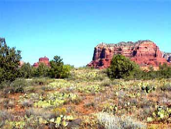 Natural Landscape of Sedona
